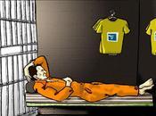 Lance Armstrong tranquille devant trophées, prison