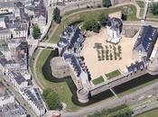 villes d'Arcachon, Nantes, Rouen Reims passent Google Maps Earth