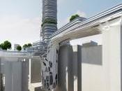 L'architecture futuriste biélorusso-tchèque Hong Kong
