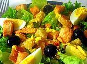 Salade César poulet chicken Ceasar