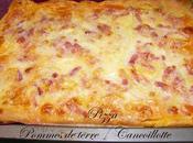 Pizza Pommes terre Cancoillotte