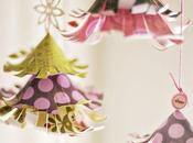 sapins fabriquer pour décorer maison fêtes
