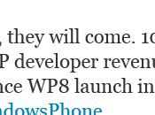 Avec Windows Phone Microsoft évoque manne financière pour développeurs