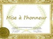 Mise l'honneur Novembre 2012