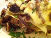 Lasagnes canard cèpes