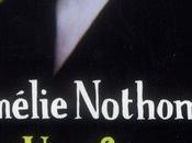 Livre vivre forme d'Amélie Nothomb