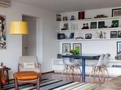 couleurs, design, gaieté touche jeunesse: appartement Peace love Brésil