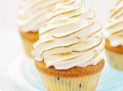 Cupcakes meringués citron pépites chocolat