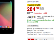 Nexus Fnac pour 285€