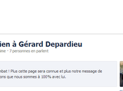 Gérard Depardieu accumule soutiens Facebook