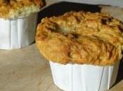 muffins salés roquefort noix pour changer peu!!