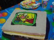 réalisations gâteau chocolat blanc fraise Fanny