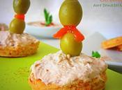 Amuse bouche blinis thon tomates sechées reveillon 2012