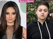 Mila Kunis sans maquillage secours