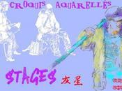 Stages Croquis aquarellés COUTEAU
