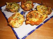 Mini-cake mini-bouchées légumes sans gluten