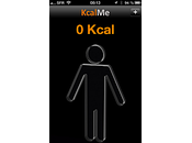 Application iPhone santé KcalMe, mincir perdre poids simplement