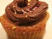 cupcakes banane ganache chocolat