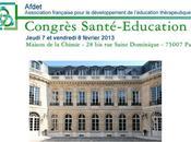 Congrès Santé Education 2013 Incriptions AFDET