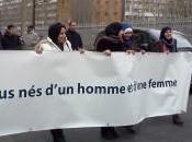Manif pour tous anti mariage départ Paris