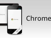 Chrome Beta Google propose téléchargement Play Store