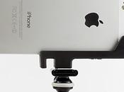Support iPhone révolutionnaire adaptable tout trépied Glif