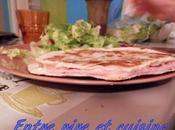 Tortillas jambon mozzarella