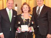Bayerische Staatsoper décerné Médaille Maîtres Chanteurs Madame Edita Gruberova