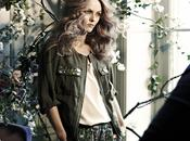 Vanessa paradis l'égérie collection h&m conscious