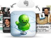 Evernote Hello iPhone, pense-bête contacts...