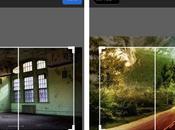 Wallpaper, faites défiler fond d'écran panoramique votre iPhone...