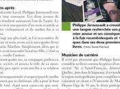L'auteur Philippe Jaroussault fait Courrier Laval