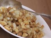 Poêlée topinambours pommes terre sésame