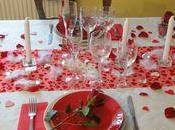 Table saint-valentin 2013 menu