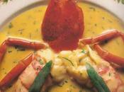Pour dîner d'amoureux fricassée homard crème d'estragon