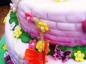 gateau chateau enchante pour princesse fairytale castle cake princess)