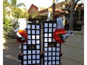 Israël Deux enfants déguisés twin towers