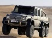 Mercedes 6×6, camion sport luxe