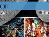 Vesta Lune, victimes même temps d'un bombardement météorïdes