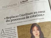 Breaking news: interview dans Monde