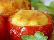 Nids tomates four (tomates farcies)