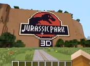 Jurassic Park dans Minecraft