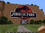 Jurassic Park recréé dans Minecraft