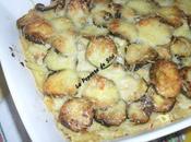 Gratiné macaroni /courgettes