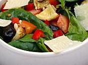 Salade pousses d'épinards