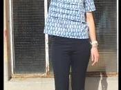 [Couture] patron Salme, bleu fleurs...