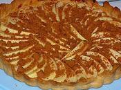 Tarte pâtissière pommes speculoos