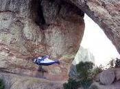 Exploit wingsuit Montserrat Espagne