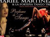 Mariel Martínez Porteña Trio tournée Argentine l'affiche]
