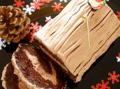 Bûche noël chocolat, facile légère (sans farine)